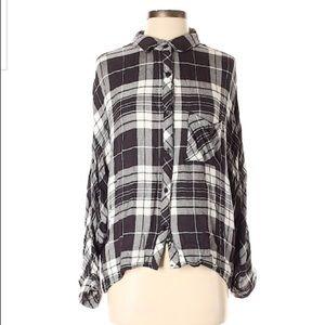Rails plaid Button-Down Shirt